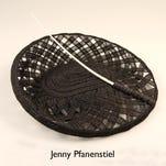 "A Derby hat by designer Anita Cauley is featured in the Kentucky Derby Museum exhibit ""It's My Derby."""