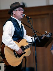 Phil Davis performs with The Emperors of Wyoming during the Mile of Music festival this summer in Appleton.