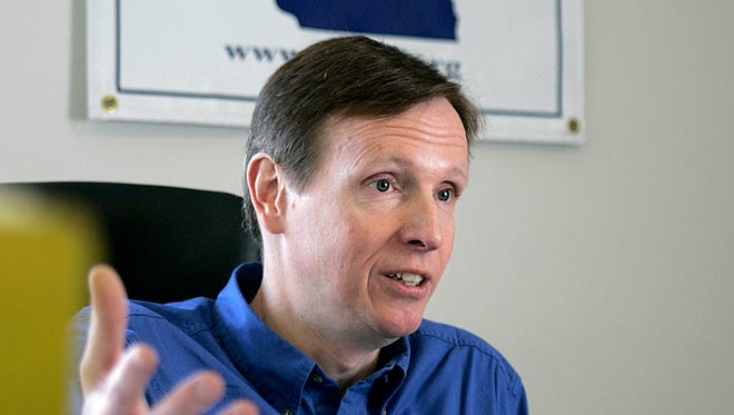 Mike McCabe, former executive director of Wisconsin Democracy Campaign.