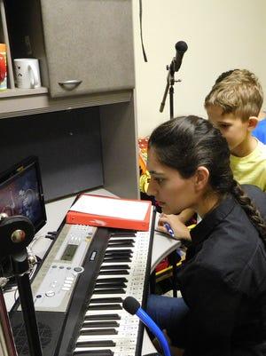 Natasha Marsalli and Connor Ferguson discuss the tracks for his album.