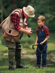 Fly fishing with kids? Be prepared to spend less than 20% of your time on the water.