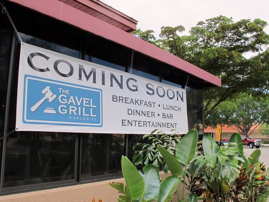 Gavel Grill is set to open Aug. 9 in the former Chrissy's
