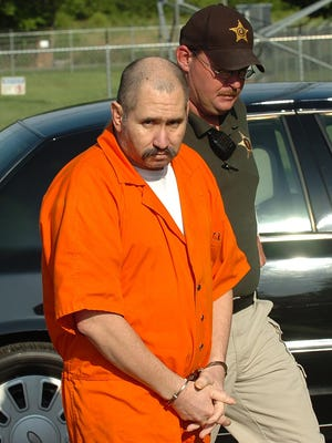 Jose Manuel Martinez arrives at the Lawrence County Judicial Building in Moulton, Ala.