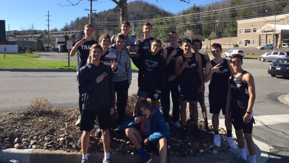 North Buncombe was the second-place boys team at Saturday's