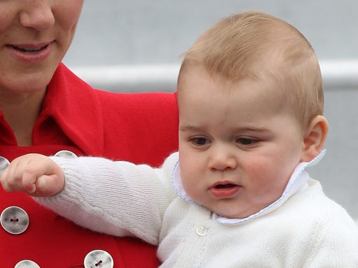 Prince George of Cambridge in NZ