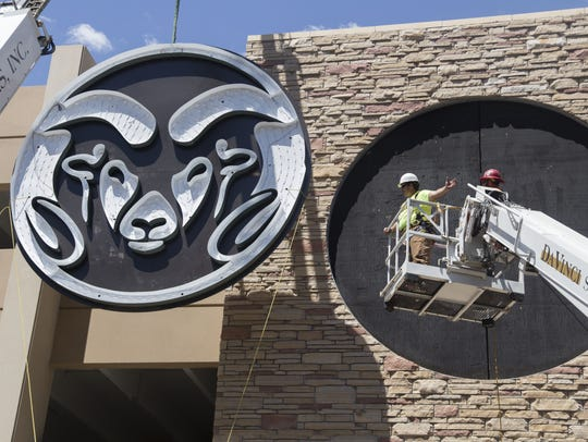 Davinci Sign Systems installs a new 16-foot Colorado