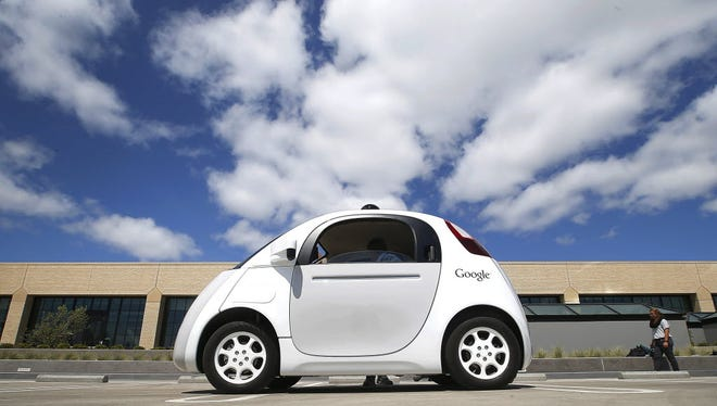 Google's self-driving car prototype would, in finished form, have neither a steering wheel or pedals.