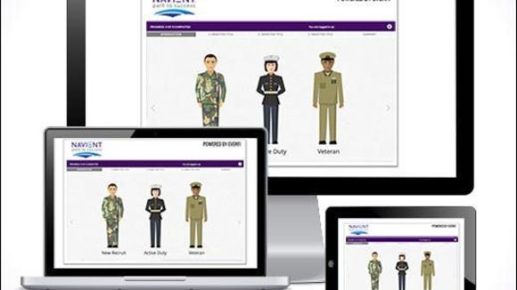 Navient is offering a new web course on managing student loans for military personnel.
