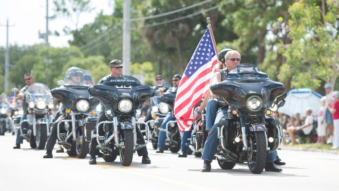 The Reverence Motorcycle Association is hosting several remembrance events in Martin County over the holiday weekend and there's also a parade in Stuart.