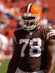Tyrone Rogers played six seasons in the NFL all with