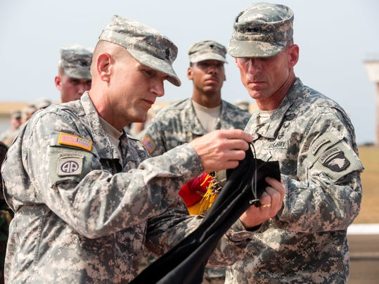 101st Airborne Division cases colors, heads home after successful mission in Liberia