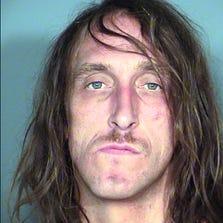 A  photo provided by Las Vegas Metropolitan Police Department shows Ryan Brown.