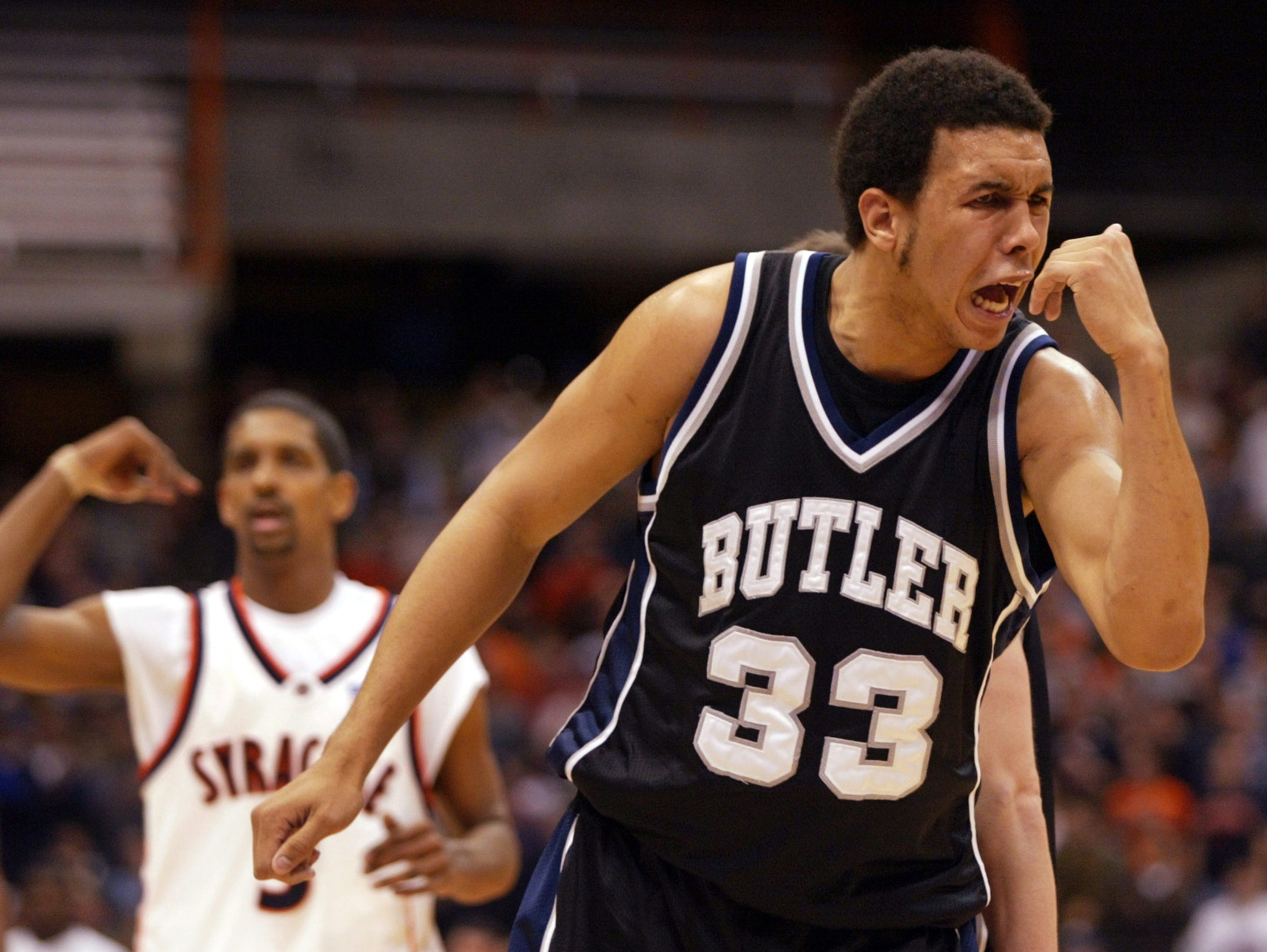 Joel Cornette was Butler's rebounding leader for three