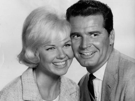 Doris Day and James Garner co-starred in the comedy