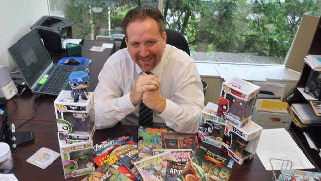 Assistant State Attorney Jason Andersen, a comic book fan, has followed the trends and changes in recent years.