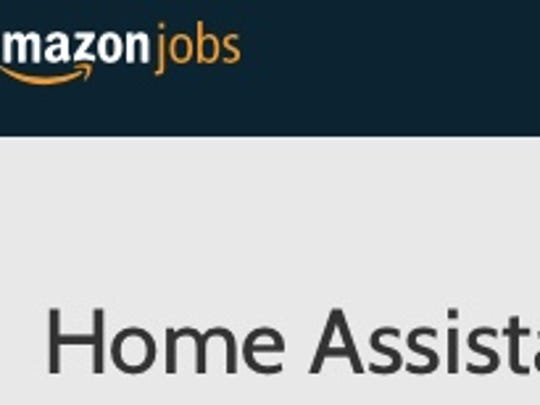 home assistant is one of the job postings at amazons