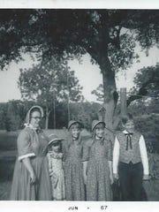 Cara Rozaieski with her siblings.