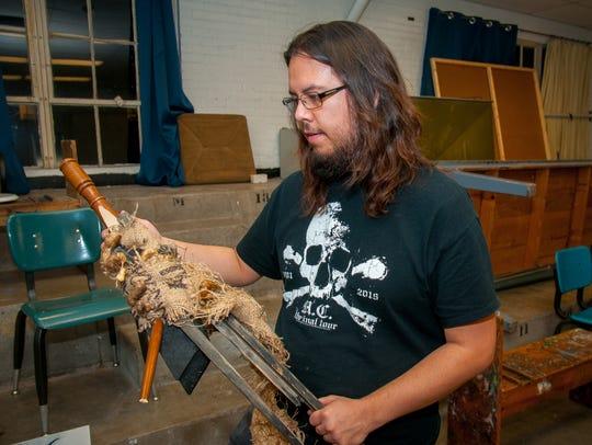 New Mexico State University graduate student Joshua