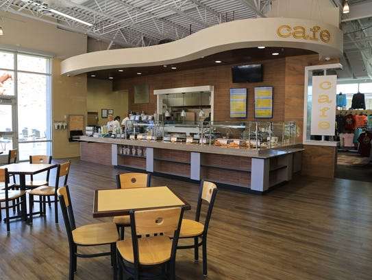 The Snow Canyon Cafe, located inside the Tuacahn Arts