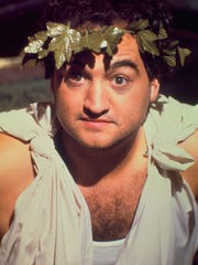 "John Belushi in a scene from the 1978 film ""Animal House."""