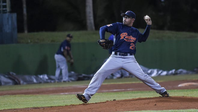 The Padres played the Smokies in a Guam Baseball League match at LeoPalace Stadium on March 17.
