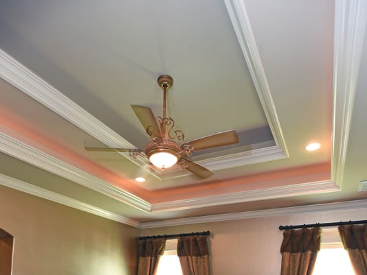 Crown moulding can help you create a room fit for a king