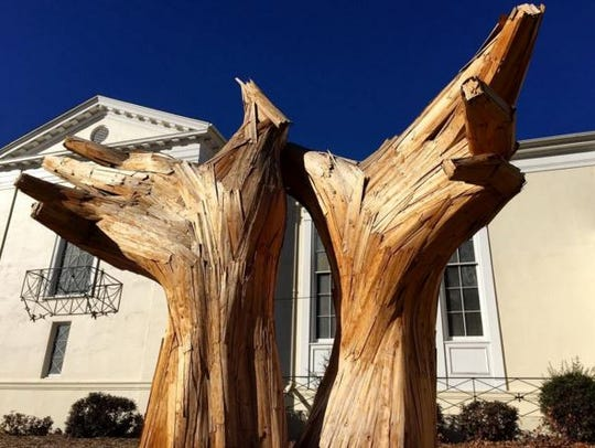 Embrace Hands by artist Matthew Schultz is one of the