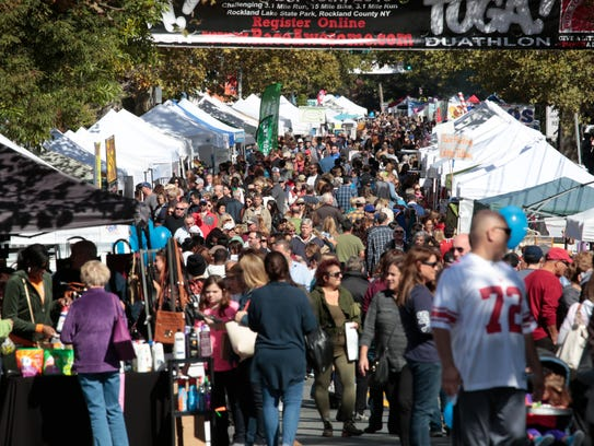 Scenes from the Nyack Street Fair on Oct. 11, 2015.