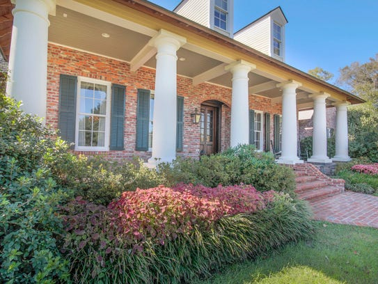 This 4 BR, 3 1/2 BA home is located at 134 Ortego Lane