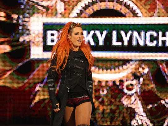 WWE Diva Becky Lynch will be at Germain Arena this