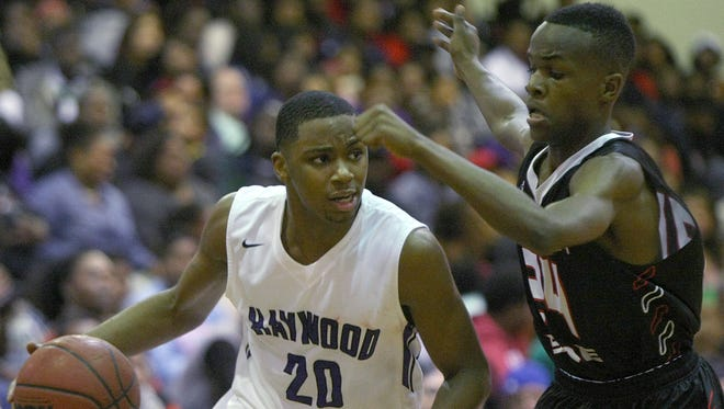 Haywood's Dedric Boyd (20) has been one of the top players in West Tennessee through the first half of the season.