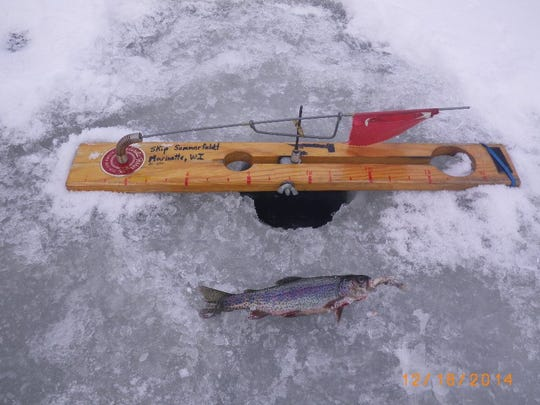 Caught on the Upper Chippewa Basin in December 2014.