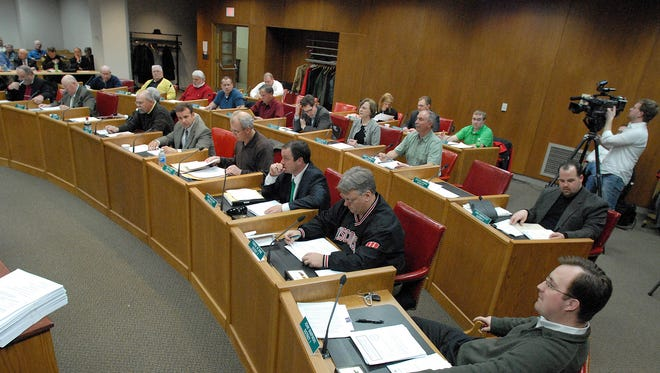 The regular meeting of the Brown County Board is held Wednesday in Green Bay.