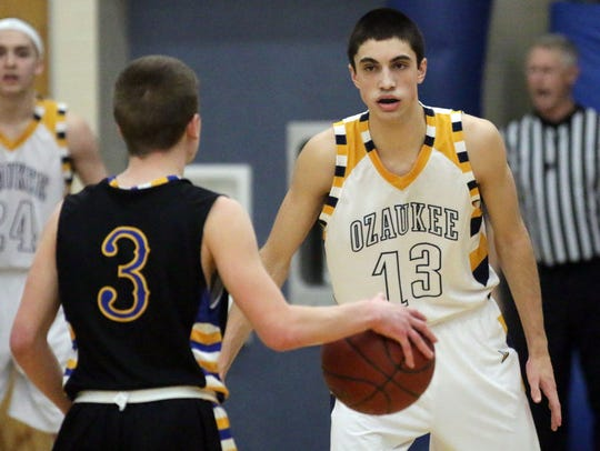 Ozaukee senior Michael Richter was a first-team all-conference