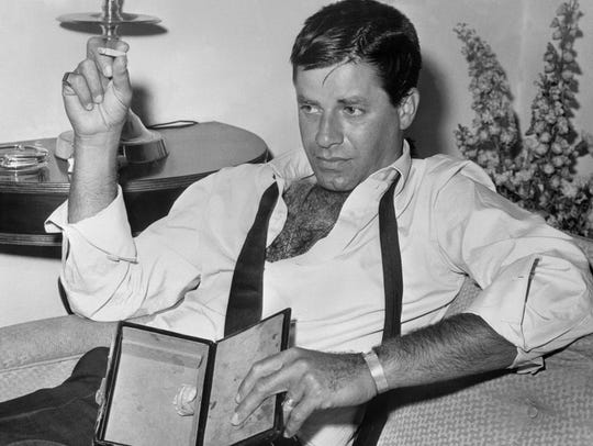 Jerry Lewis in Hollywood, Fla in 1965.