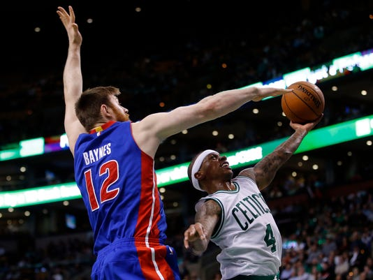 NBA: Detroit Pistons at Boston Celtics