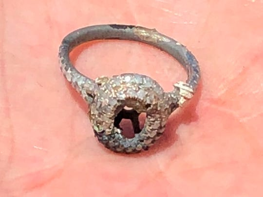 This wedding ring, lost in a California wildfire, was found in the ashes. Now if we just had a universal Lost & Found for items that stray farther from home. Is 1-800-FOUND-IT taken?