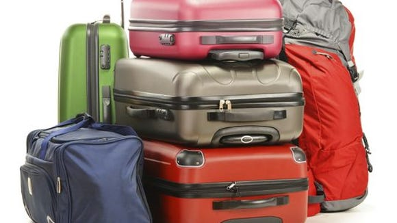 Luggage: A slump in travel between winter holidays