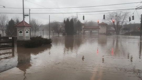 Flooding in Anderson Township