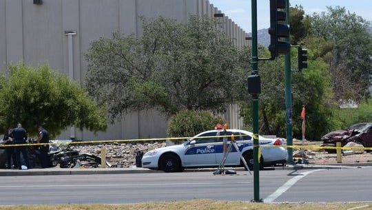 A car crash with double fatalities happened on Broadway and 16th around 11:15 a.m. on Sunday