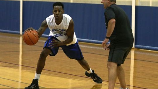 Former Blackman basketball player Justin Coleman dismissed from MTSU's basketball team, the school confirmed Monday.