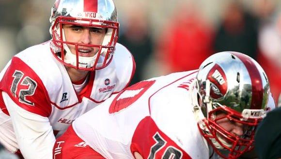 WKU quarterback Brandon Doughty.