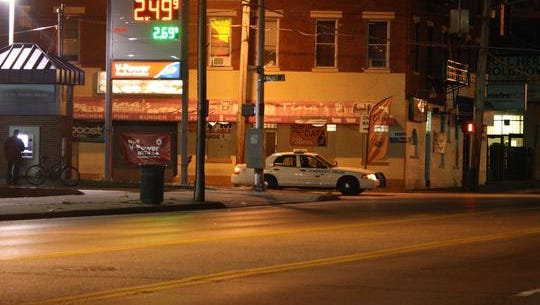 The gas station at 30 E. Liberty St. in Over-the-Rhine has averaged nearly 2.5 police service calls a day over the last two days.