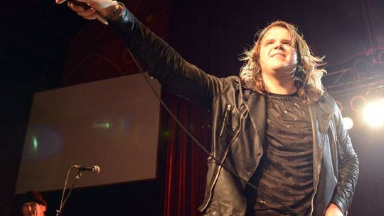 "Caleb Johnson performed at The Orange Peel in May as part of his homecoming visit with ""American Idol."""