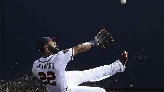 Jason Heyward is the new St. Louis Cardinals right fielder.