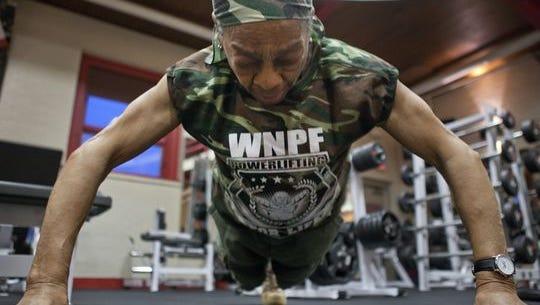 Meet Willie Murphy. She can deadlift over 200 pounds.