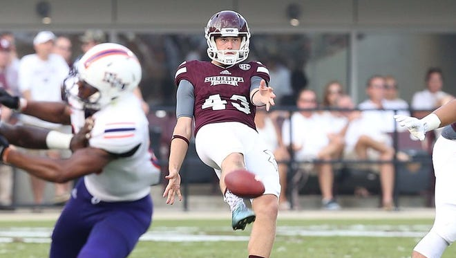 Mississippi State punter Logan Cooke was named to the Ray Guy Award watch list on Friday.