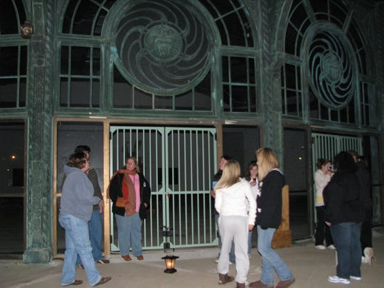 Searching for ghosts in Asbury Park.