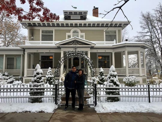 Abbie Stout and her husband, Jonathan, are the new owners/operators of The Edwards House, 402 W. Mountain Ave.