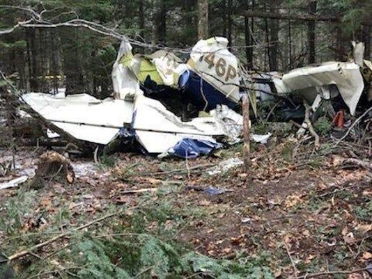 Island-Plane Crash